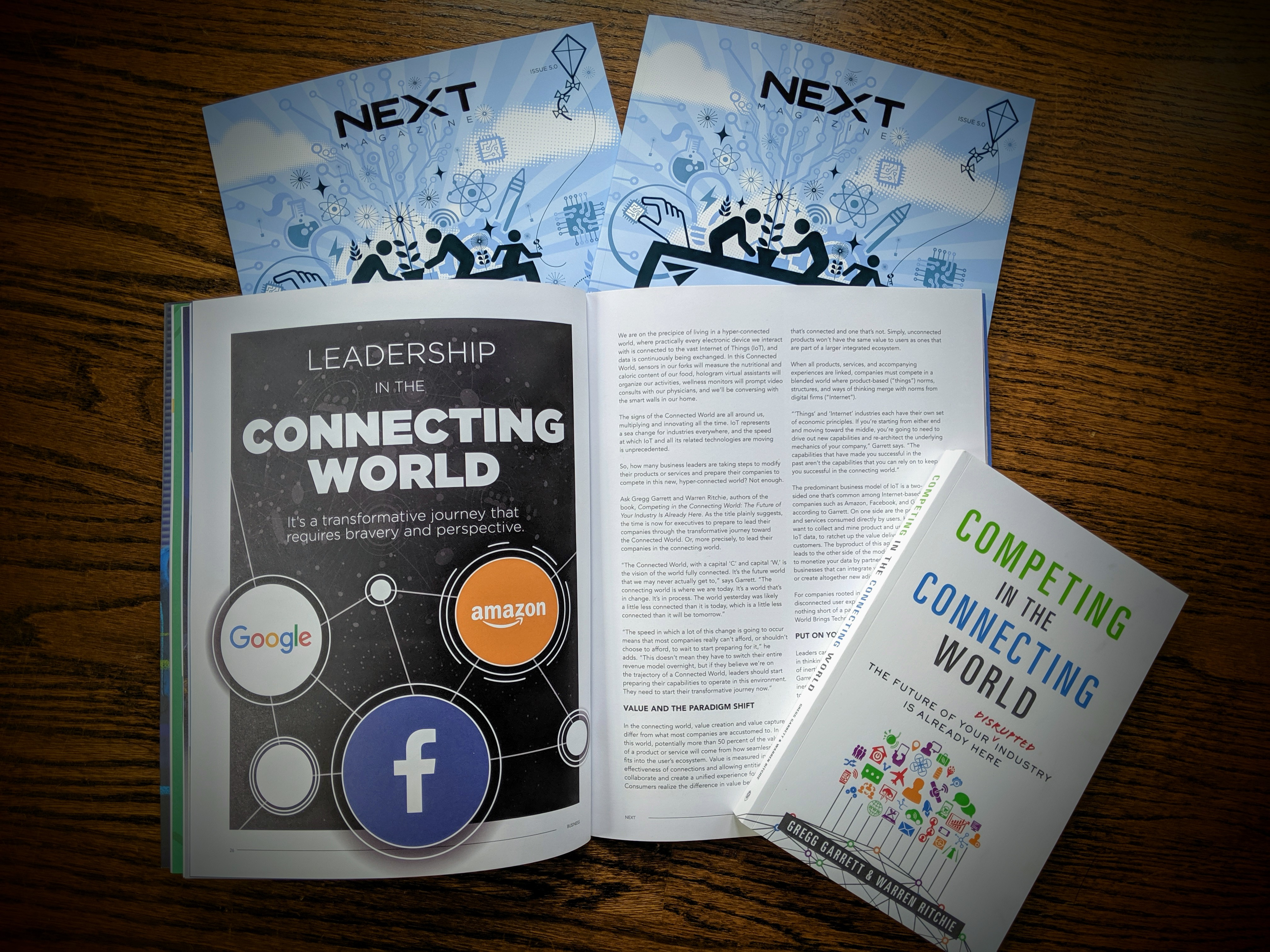 CGS' Thought Leadership on the Connected World highlighted in recent article